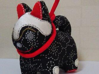 張子犬  BIYO (もみじ黒)の画像