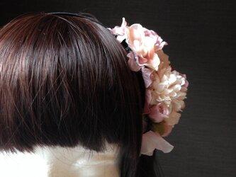 お花の詰合わせカチューシャ 1の画像