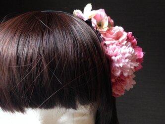 お花の詰合わせカチューシャ 2の画像