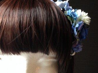 お花の詰合わせカチューシャ 3の画像