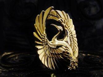 金鶴の指輪【ROF002RG】の画像