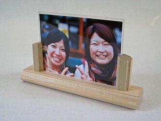 カエデ材の写真立て(小) L サイズ用の画像