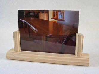 カエデの写真立て(大) 2L サイズ用 の画像