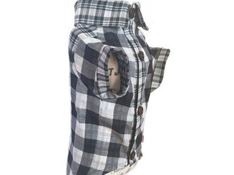 値下げ!!!!ミックスチェックシャツの画像