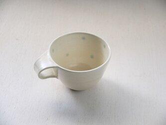 白土水玉ティーカップの画像