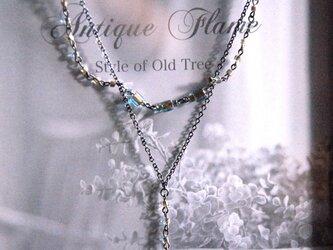 Twilight『Fluorite drop』ネックレスの画像