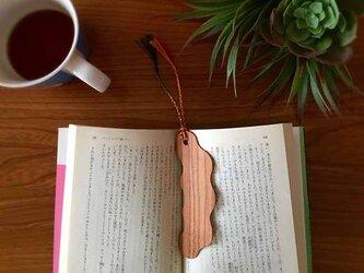 桜の木の Book Marker *雲*の画像