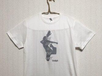 【Jump girl】Rocky's オリジナルTシャツ  S ホワイトの画像
