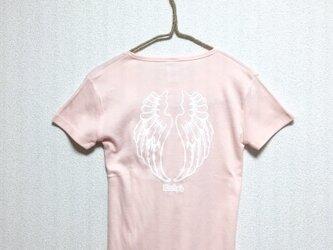 【Wing】Rocky's オリジナルTシャツ ピンクの画像