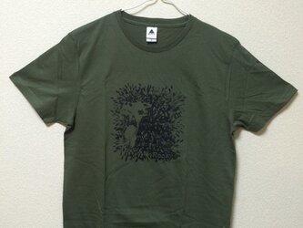 【Monkey】Rocky's オリジナルTシャツ カーキの画像