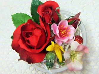 リンリンさまご注文商品 花かんざし プリンセスローズ☆*の画像