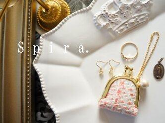 アクセサリーケース s size  -tweed pink-の画像