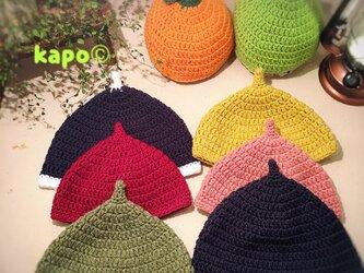 毛糸のどんぐり帽子《大人普通サイズ》の画像