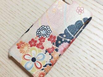 【受注生産&送料無料】 和柄 オーダーメイドiPhoneカバー スマホカバー ♡の画像