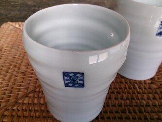 フリーカップ(大)市松紋の画像