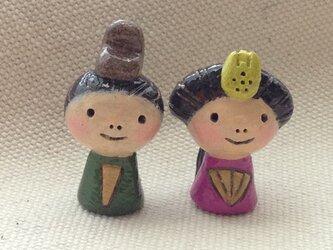 豆雛【おひなさま】の画像