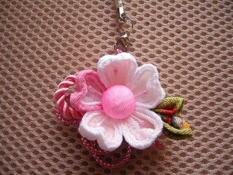 桜の花のチャーム(祝の桜B)の画像