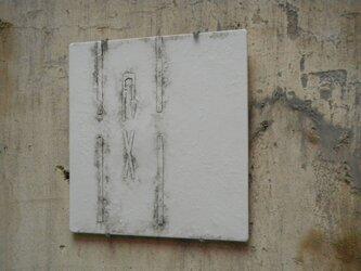 ノスタルジックプレート 壁掛け 陶板 Uターン禁止の画像