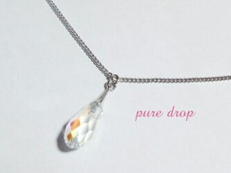 *pure drop*ネックレス《silver》の画像