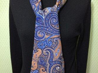 シルクウールのマフラースカーフ001の画像