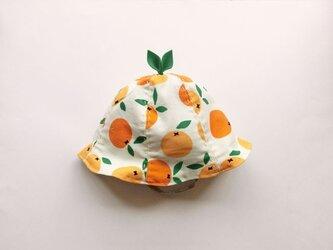 ぐんぐん大きくなあれ!葉っぱハット・オレンジの画像