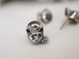 招き猫ピンブローチ(ピクシー)の画像