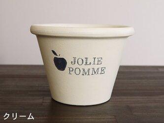 植木鉢(テラコッタ)Mサイズ 002 クリームの画像