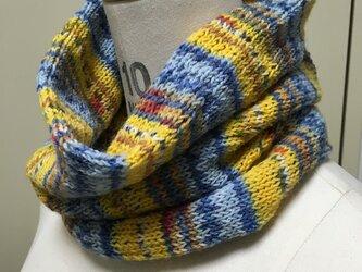 手編みスヌードの画像