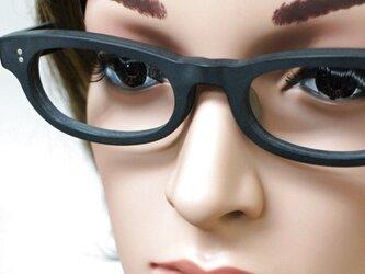 【男女兼用サイズ】丈夫に作った骨太セルロイド眼鏡001-BB-マットの画像