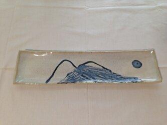 筑波山を見ての・さんま皿の画像
