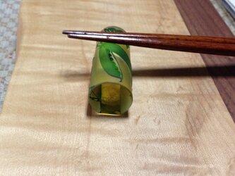 ガラス箸置き(ペア)の画像