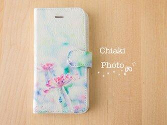 【全機種対応】flower*iphone/Androidスマホケース【手帳型】の画像