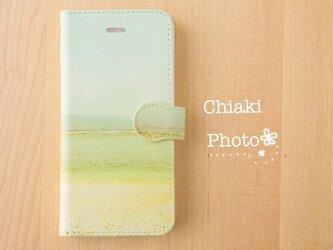 【全機種対応】優しい海*iphone/Androidスマホケース【手帳型】の画像