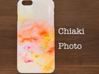 【各機種対応】happy orange*iphoneケース・Androidスマホケースの画像