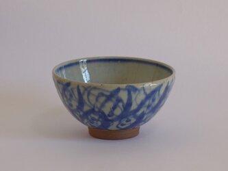 碗(呉州絵つる花紋)大の画像