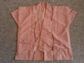 着物リメイク作務衣の画像