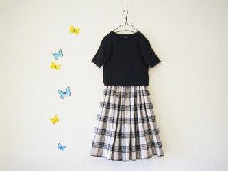 size80~ チェックのスカートの画像