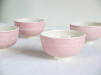 桃化粧丸茶碗の画像