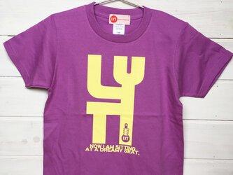 BIG LYT ラベンダー Tシャツの画像