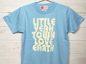 LOVE EARTH ライトブルー Tシャツの画像