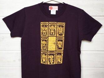 MASK TOWN ディープパープル Tシャツの画像