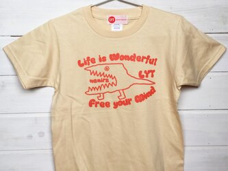 WANIRA ナチュラル Tシャツの画像