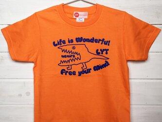 WANIRA オレンジ Tシャツの画像