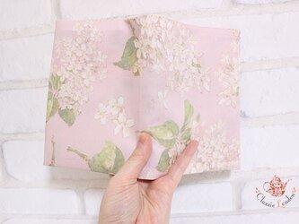 リバティ 桜色のアーカイブライラック 文庫サイズの画像