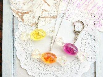 【50 cm】ロゴ入りキャンディのペンダントトップ用ネックレスチェーン(シルバー)の画像