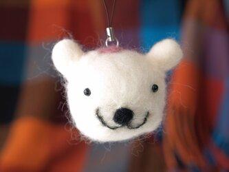 フェルトあにまる(白クマ)の画像