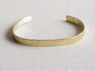【再販】- BR - Hammered Bangle - 5mm幅 -の画像