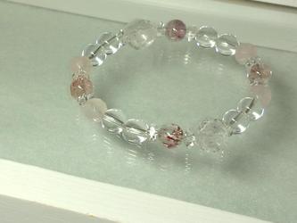 星入り水晶のブレスレット 2の画像