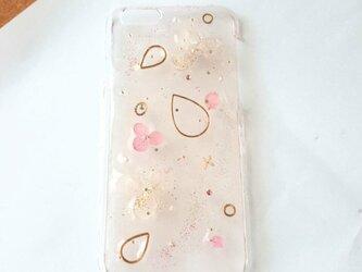 ふんわり桜色 iPhone6ケースの画像