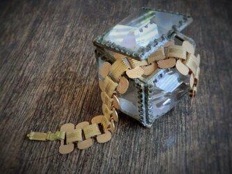 ヴィンテージミルチェーンブレスレット vintage bracelet <STP-FUL2>の画像